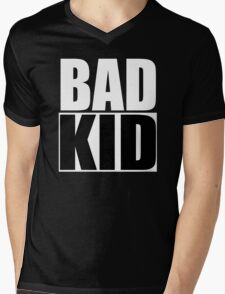 Bad Kid Mens V-Neck T-Shirt