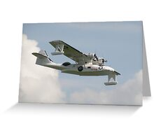 Consolidated PBY Catalina Greeting Card