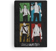 Uncharted Evolution Canvas Print