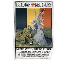 Belgian Red Cross 665 Poster