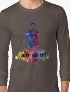 Just Do It Shia Labeouf Colourful Long Sleeve T-Shirt