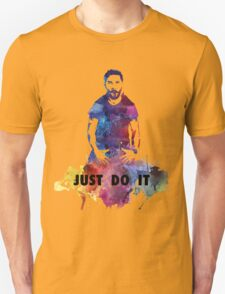 Just Do It Shia Labeouf Colourful Unisex T-Shirt