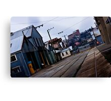 Railway Yards, Launceston Tasmania Canvas Print