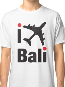 I LOVE BALI tee Classic T-Shirt