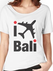 I LOVE BALI tee Women's Relaxed Fit T-Shirt