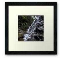Silvia falls Framed Print