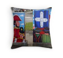 Rumblings on the Goldfields (back view) Throw Pillow