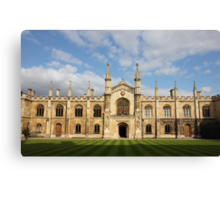 College of Corpus Christi and the Blessed Virgin Mary Canvas Print