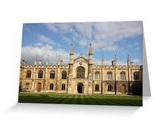 College of Corpus Christi and the Blessed Virgin Mary Greeting Card