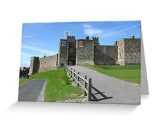 Dover Castle in Kent county Greeting Card