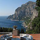 Island Capri - A Nice Terrace View by kirilart