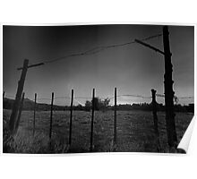 Electrified Fence Poster