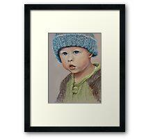 Great grandson Jordan Framed Print