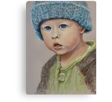 Great grandson Jordan Canvas Print