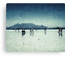 Cape Town Big Bay Canvas Print