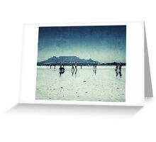 Cape Town Big Bay Greeting Card