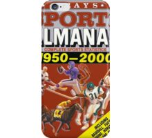 Grays Sports Almanac iPhone Case/Skin