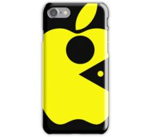 Pac Apple (mac man) iPhone Case/Skin