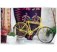 The Yellow Bicycle Poster