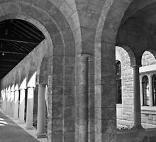 Arches - University of Western Australia by Karen Stackpole