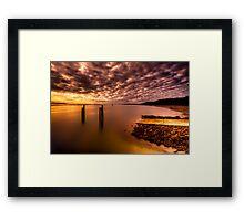 Boat Ramp.. Framed Print