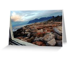 Picture Frane Greeting Card