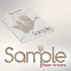 Logo Design - Paper Artisans 'Sample' by cmsdesign