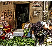 Vegetable Market by Michelle Clarke