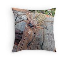 Guardian of the Wood Throw Pillow