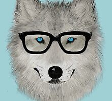 Wild Animal with Glasses - V02 by Lidra