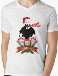 Shia Labeouf Merry Christmas Mens V-Neck T-Shirt