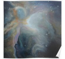 Cosmic Nebula (As above, so below) Poster