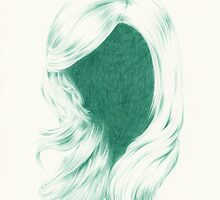 green waves | hair by Anna Frohmann