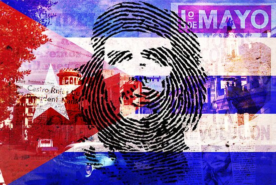 Ernesto Left His Cuban Thumbprint by GraphicMonkey