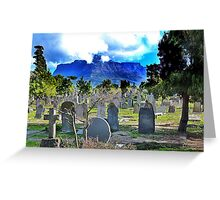 A Viw to Die For Greeting Card