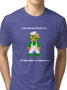 Team Luigi Tri-blend T-Shirt