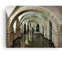 Winchester Crypt Canvas Print