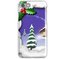 Snowy Christmas iPhone Case/Skin