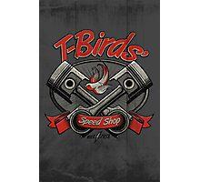 T-Birds' Speed Shop Photographic Print