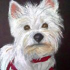 Little White Terrier by DianeL