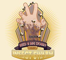 Insect Swarm Plasmid by woahjonny