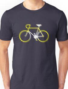 Lightweight White Yellow Velo Unisex T-Shirt
