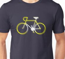 Lightweight White Yellow Velo Unisex T-Shirt