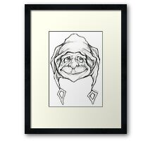 """""""The funky one"""" Framed Print"""