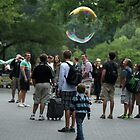 Giant Bubble at Central Park by Callie Smith