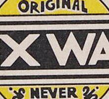Mr Zogs Sex Wax - Orange Fade Sticker