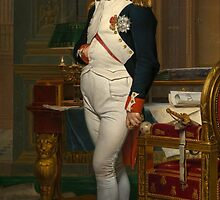 Emperor Napoleon in His Study at the Tuileries  by warishellstore