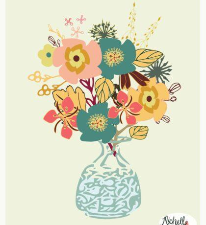 Autumn Blooms Sticker