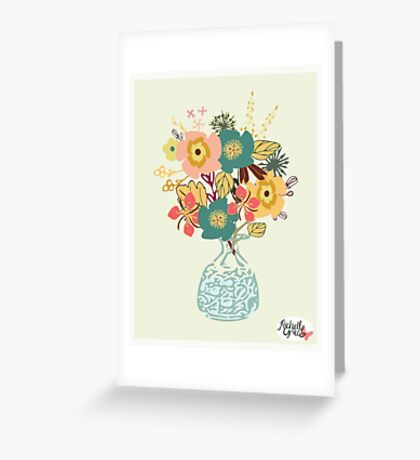 Autumn Blooms Greeting Card