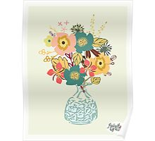 Autumn Blooms Poster